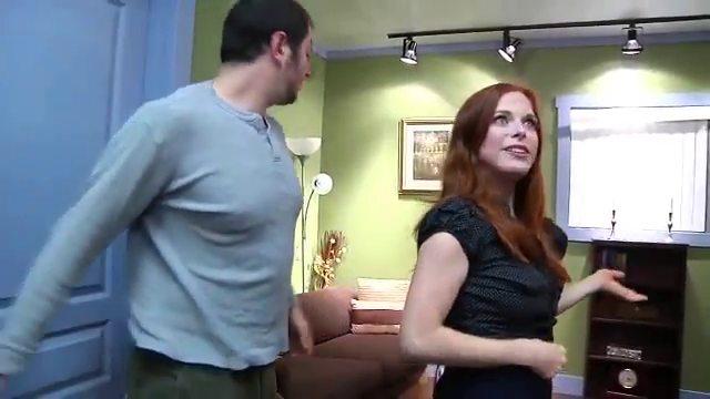Mom teaching daughter anal sex